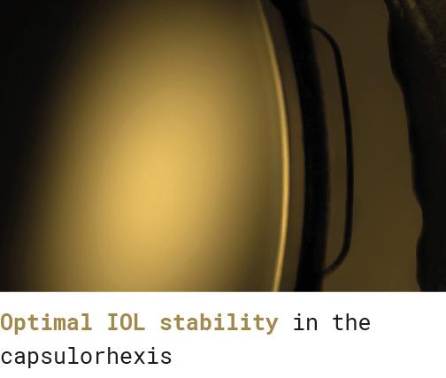 Optimal iol stability